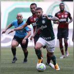 Após batalha jurídica, Palmeiras empata com desfalcado Flamengo