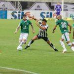 Ceará sofre gol no fim do jogo e cede empate ao Goiás no Castelão