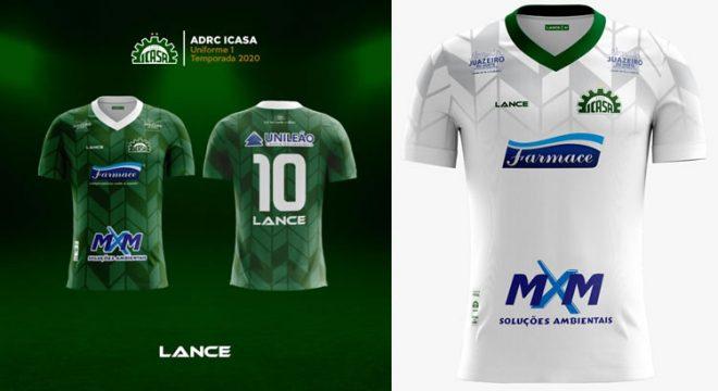 Diretoria do Icasa envia camisas do clube para o presidente Jair Bolsonaro