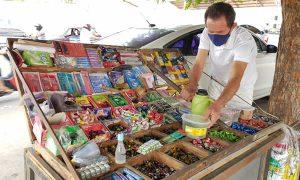 Pandemia e demolição de escola fez vendas caírem 80%, revela vendedor de bombons