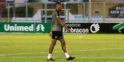 Ceará detecta problema cardíaco em atacante Saulo Mineiro