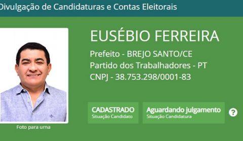 Eusébio Ferreira é o primeiro candidato a solicitar à Justiça Eleitoral o registro de candidatura