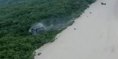Carro capota várias vezes após subir em duna no Rio Grande do Norte