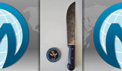 RAIO prende homem ameaçando sua irmã com facão no centro de Juazeiro
