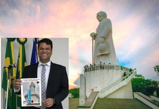 Elevador na estátua de Padre Cícero deve ser instalado ainda em 2020, revela vereador