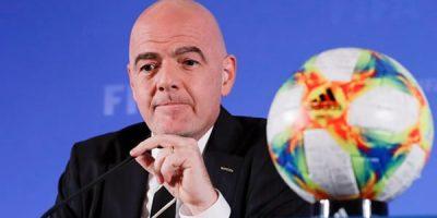 Gianni Infantino, presidente da Fifa, está infectado com o coronavírus