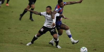 Fortaleza empata com o Corinthians em partida pela Série A, na Arena Castelão