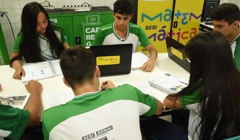 Escola SESI SENAI está com matrículas abertas para 2021