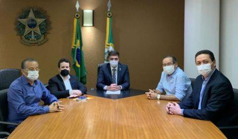 Prefeitos do Crajubar se reúnem com Camilo e Fernando Santana por benefícios da PPI