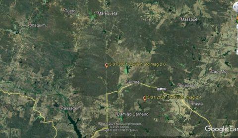 Quixeramobim registra sete tremores de terra; moradores relatam barulho de explosão
