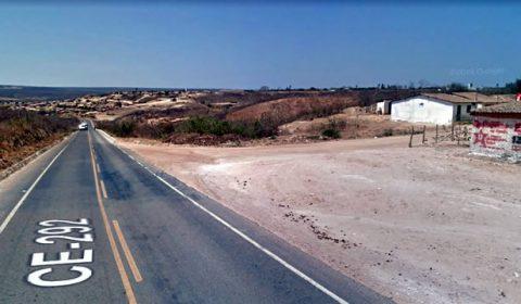 Ciclista de 70 anos morre em Araripe atropelado por moto