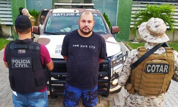 Foragido da Justiça suspeito de realizar centenas de crimes é preso em Iguatu