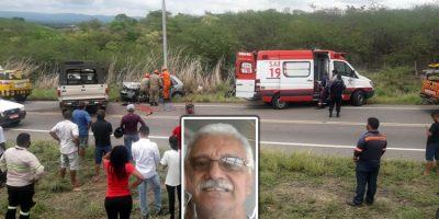 Professor morre num grave acidente de trânsito em Juazeiro do Norte