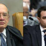 Gilmar Mendes mantém foro especial a Flávio Bolsonaro até julgamento no STF