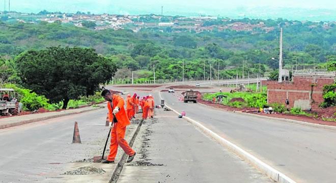 Construção da quarta etapa do Anel Viário do Cariri está em ritmo lento