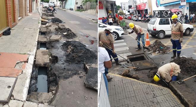 Secretaria de Infraestrutura amplia limpeza da rede de drenagem de Juazeiro do Norte