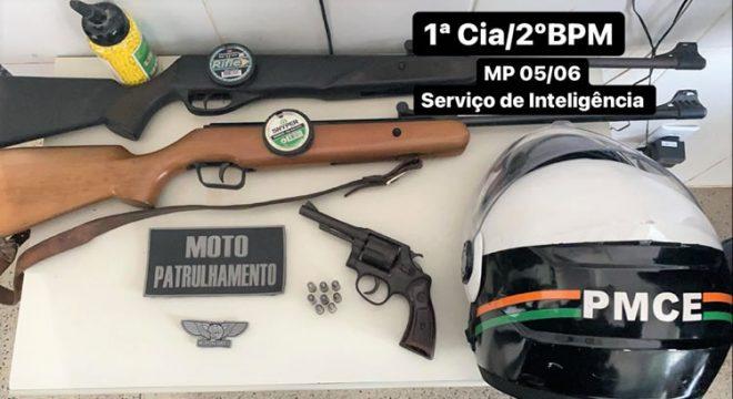Homem é preso em Juazeiro após disparos em via pública no João Cabral