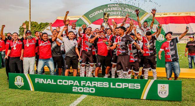 Ferroviário vence o Icasa e é campeão da Taça Fares Lopes 2020