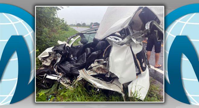 Empresário que dirigia carro com placas de Juazeiro morre num acidente em Iguatu