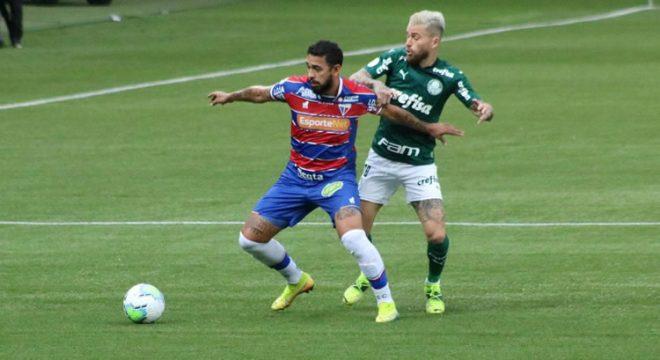 Fortaleza perde para o Palmeiras fora de casa e desperdiça chance de se garantir antecipadamente