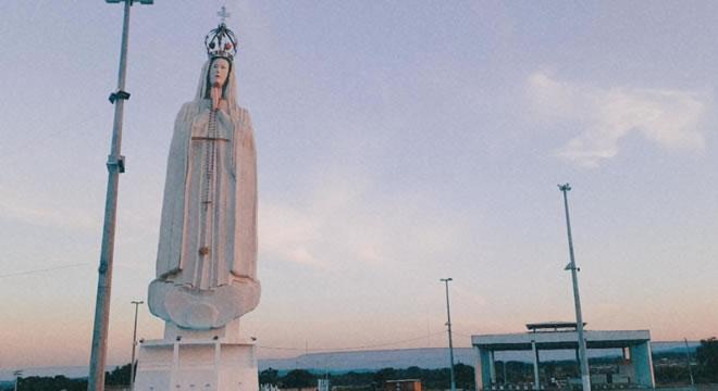 Município de Crato realiza celebrações à Nossa Senhora de Fátima aos pés da estátua