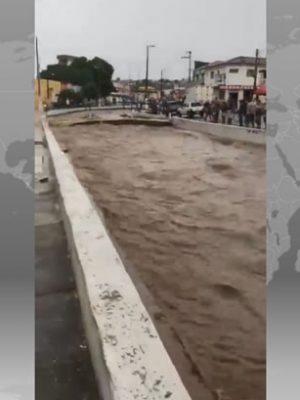 Veja como está o Canal do Crato após a chuva de 110 milímetros desta sexta-feira