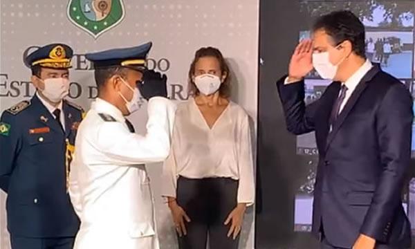 Governador do Ceará promove milhares de policiais militares e bombeiros, escute!