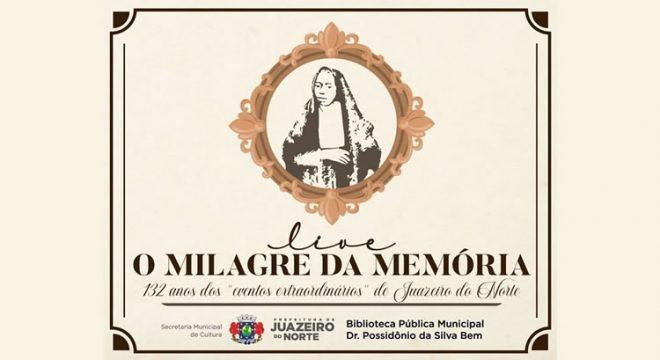 Município de Juazeiro fará homenagem aos 132 anos do Milagre da Hóstia em 1º de março