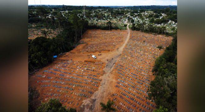 Brasil registra 2.286 mortes por Covid-19 em 24h, novo recorde diário na pandemia