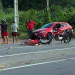 Motoqueiro bate num animal em Crato e outros acidentes em Lavras e Várzea Alegre