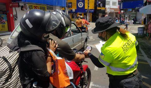 Motociclistas de Juazeiro do Norte poderão ser multados por uso de retrovisores irregulares a partir de abril