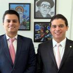 Empresário caririense do ramo de eventos visita o deputado Junior Mano, em Brasília