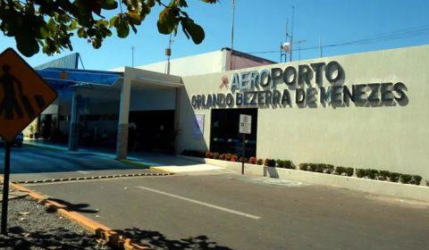 Obras de revitalização do Aeroporto de Juazeiro do Norte começam nesta terça-feira (2)