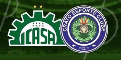 Icasa e Crato disputam última vaga para a Série D do Campeonato Brasileiro 2022