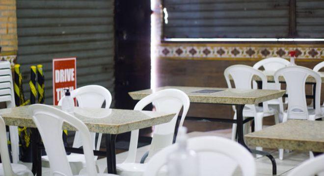 Restaurantes do Ceará registraram período mais difícil desde junho de 2020