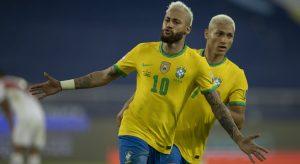 Brasil goleia Peru e garante classificação para as quartas de final da Copa América