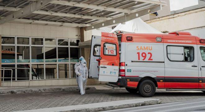 Covid-19: ocupação de UTIs no Ceará é de 82,4%; na enfermaria, taxa é de 58,2%
