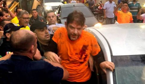 MP denuncia 35 PMs por aquartelamento que terminou com Cid Gomes baleado