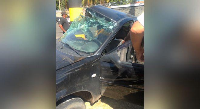Mulheres saem feridas após abalroamento em Juazeiro e jovem morre noutro acidente