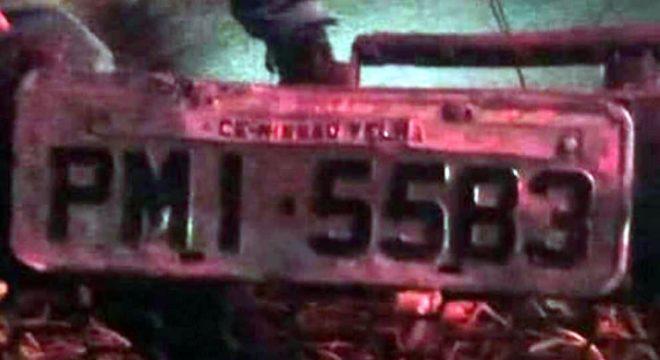 Jeep cai num penhasco de 30 metros em Caririaçu e motorista não foi encontrado no local