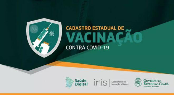 Ceará tem 200 mil novos cadastros para receber a vacina contra Covid, e sistema fica instável