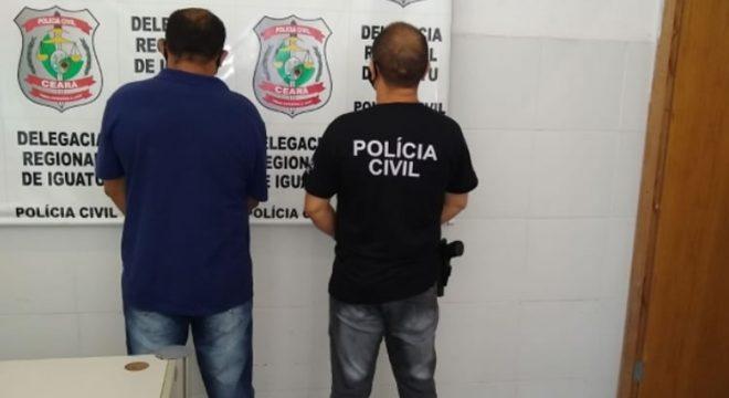 Polícia Civil prende foragido da Justiça de Juazeiro do Norte em Iguatu