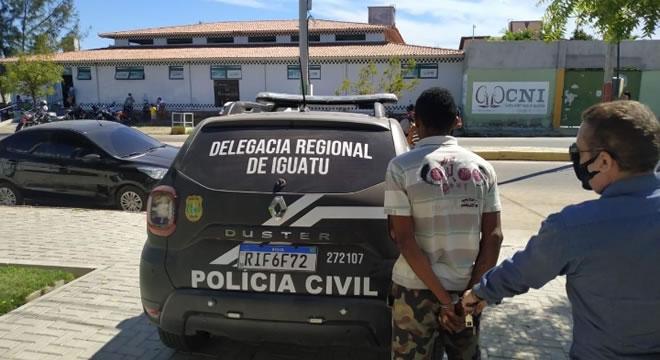 Polícia Civil captura envolvido em latrocínio de mulher na 'Operação Coleta' no Iguatu