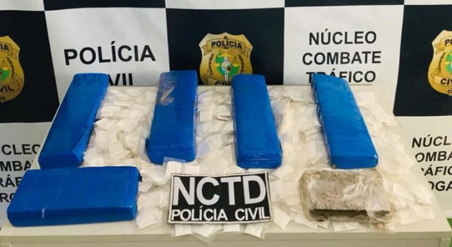 Veja a prisão em Crato de garota que trazia drogas da Bahia e a Polícia Civil evitou