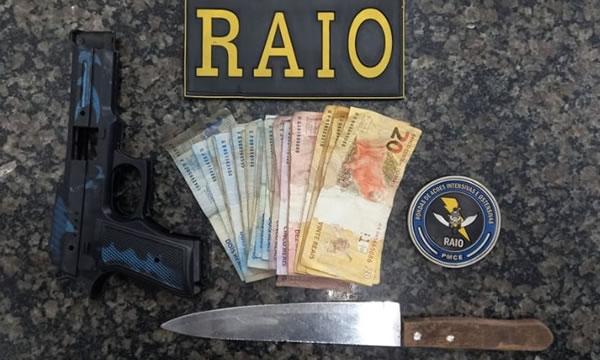 RAIO de Crato prende dupla após assalto a passageiros de Topic