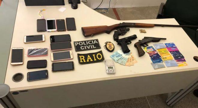 Polícia cumpre mais de 40 mandados de prisão e apreensão contra membros de facção no Ceará