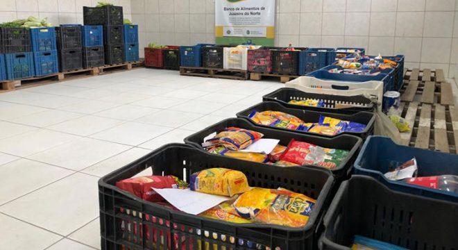 Campanha Juazeiro Solidário arrecadou aproximadamente 400kg de alimentos não perecíveis