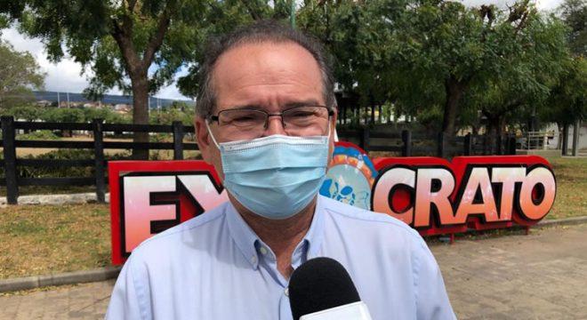 Prefeito do Crato lamenta mais um ano sem Expocrato e comenta prejuízo milionário