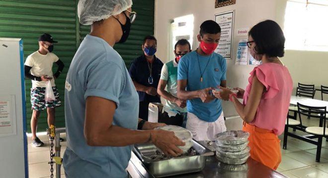 Restaurante Popular do Crato amplia oferta de refeições e passa a fornecer 600 marmitas por dia