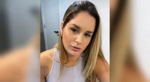 Agredida por DJ Ivis, Pamella Holanda comenta sobre violência doméstica